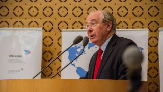 Jean Bizet, sénateur de la Manche, président de la commission des affaires européennes du Sénat