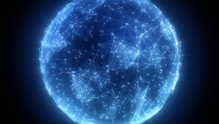 Planète, connexion, relation, international, échange