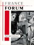 Equivoques indiennes ?, France Forum, n° 17, juin 1959