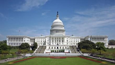 © United States Capitol - west front. Architect of the Capitol derivative work: O.J. [public domain]